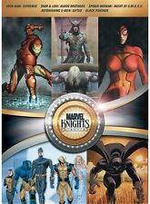 Marvel Knights Collection New Sealed 5 Dvd Set