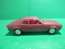 JOHAN 1973 AMC HORNET 1/25 MODEL CAR MOUNTAIN PROMO MAGENTA