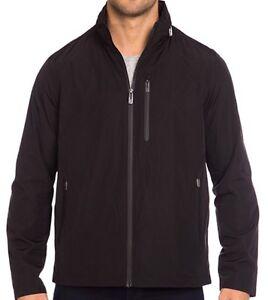 T-Tech by Tumi Men's Black Rain Jacket Size S RRP $199