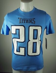 NFL Chris Johnson Tennessee Titans 28 Official NFL Youth Fan Apparel T-Shirt