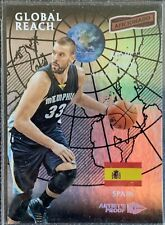 Marc gasol (grizzlies) 2016/17 aficionado Global Reach artist proof card Nr. 108