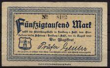 [15720] - Notgeld FREIBURG i. SCHLESIEN (heute: Świebodzice), Stadt, 50 Tsd Mk,