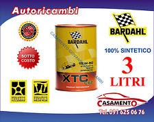 3 LT LITRI OLIO MOTORE AUTO BARDAHL XTC C60 15W50 POLAR PLUS FULLERENE