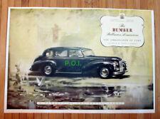 (X24) Humber Pullman Limousine Car Advert - 1948 Clip