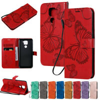 Butterfly Wallet Leather Flip Case Cover For Xiaomi Redmi Note 9S Note 8 6A 8A 9