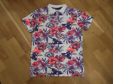 Polo Shirt NWOT by Next in Girl's 13 Years - White/Purple/Pink Floral SP