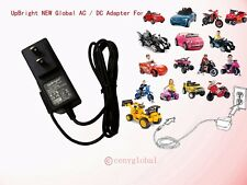 6 Volt Battery Charger AC Adapter For Kids Ride on Cars Trucks Motorcycles toy