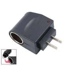 Car Cigarette Lighter AC 220V To DC 12V Wall Plug Adapter Converter Socket RF