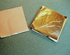 50 feuilles d'or 24 carats 6,9 x 6,9 cm