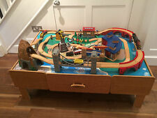 UNIVERSE OF THE IMAGINATION WOODEN TOY TRAIN TABLE SET MARGATE