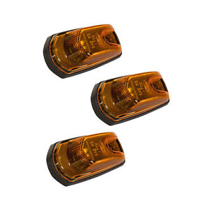 NEW OEM 17-20 Ford Super Duty LED Roof Marker Clearance Light Lamp Amber w/ Seal