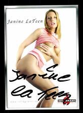 Janine La Teen Autogrammkarte Original Signiert # BC 91406