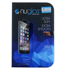 NuGlas Tempered Glass Screen Protector for iPhone 7 8 Ultra Slim 0.3MM 9H