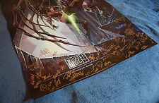 Blizzcon 2008 Official StarCraft II 2 Signed Poster