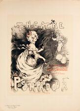 Les Maitres de l'Affiche pl.203 Theatre Pompadour by E. Barcet Original Poster
