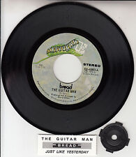 "BREAD  The Guitar Man 7"" 45 rpm vinyl record + juke box title strip"