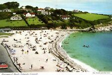 Postcard Swanpool Beach Falmouth Cornwall      (A18)