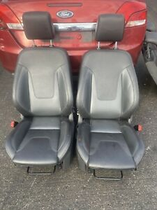 FORD FIESTA ZETEC S FULL LEATHER SET OF SEATS FRONT+BACK