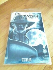 Zobie Fright Pack The Forgotten Isle Comic Book - Issue 4 - Exclusive Cover