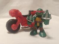 Teenage Mutant Ninja Turtles TMNT - Half-Shell Heroes - RAPH w/ MINIBIKE