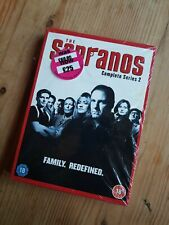 The Sopranos - Series 2 - Complete (DVD, 2003, 4-Disc Set)