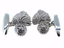 New 925 Sterling Silver ROYAL REGIMENT OF FUSILIERS RRF Men's Cufflinks