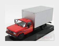 Chevrolet D-40 Truck Cassonato 1989 Red Silver WHITEBOX 1:43 WB267