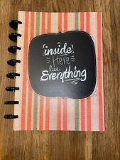 New listing Arc Undated Junior 5.5 x 8.5 refillable Planner, Inside Here Lies Everything