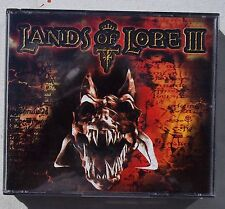 LANDS OF LORE III. GAME DISCS. PC WINDOWS. WESTWOOD STUDIOS.