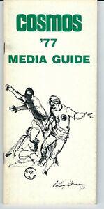 1977 New York Cosmos Media Guide, NASL, soccer, Pele's last season