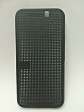 HTC  Dot View Ice™ Folio Case for HTC® One M9 | Official | Black & Clear Colour