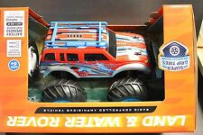 LAND & WATER ROVER Radio Controlled Amphibious Vehicle RED CAR 27MHZ