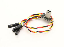 Mobius FPV Cable USB to AV Out Feed Cable with Power Feed Fits All Transmitters