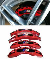 BMW SET 4 COVER / COPRI PINZE FRENI ROSSO / NERO LOOK M - M SPORT -2