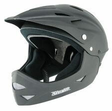 NEW CHILDRENS STEALTH FULL FACE DOWNHILL DIRT JUMP HELMET - MTB DH PARK MTB BMX