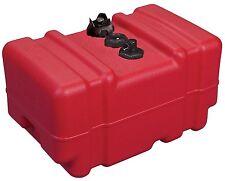 Portable Boat Marine Fuel Gas Tank 12 Gallon High Profile New Moeller Tax Free