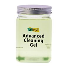Winyl Advanced Cleaning Gel 500ml, Antistatic vinyl record cleaner for LPs & 45s