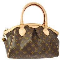 LOUIS VUITTON TIVOLI PM HAND TOTE BAG PURSE MONOGRAM M40143 NR12977j