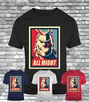 New My hero academia All Might plus ultra anime midoriya men's t-shirt cool tee