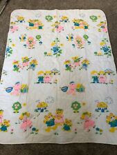 New listing Vintage Baby Blanket 3 Little Pigs, Goldilocks 3 Bears, Gingerbread Man