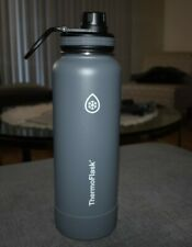 Thermoflask Stainless Steel 40 oz Water Bottle - Gray - Brand New