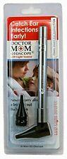 Third Generation Dr Mom Slimline Stainless LED Pocket Otoscope True View