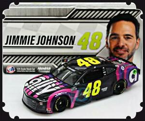 """2020 JIMMIE JOHNSON #48 ALLY SIGN FOR JIMMIE 1:24  """"840 MADE"""""""