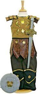 Child Kid Roman Gladiator Warrior Fancy Dress Costume Age 3 4 5 9 10 11 Boy Girl