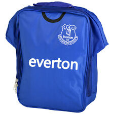 EVERTON FC KIT SHIRT SHAPE INSULATED SCHOOL LUNCH BAG BOX PICNIC GIFT XMAS