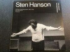 Sten Hanson: Text-Sound Compositions (LP)