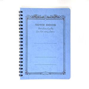 Apica B6 Spiral Notebook - Ruled - Blue