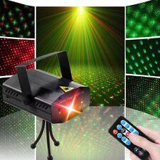 Luces Láser Para Fiestas Proyector Luz De DJ Club Con Control Remoto Baile Flash