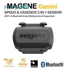 Sensor ANT+bluetooth cadence and speed magene Gemini 210 universal road bike