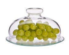 Käseglocke mit Glasteller Trendglas Jena Servieren Höhe 11 cm formschön